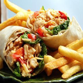 Chicken Stir Fry Wrap